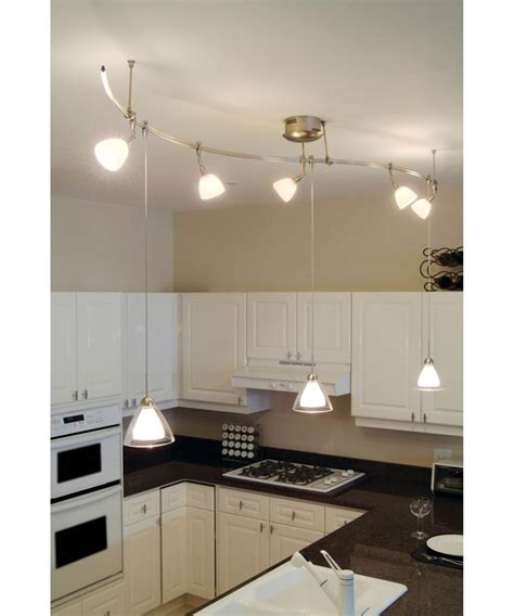 Kitchen Rail Lighting Home Decorating Pictures Kitchen Track Lights