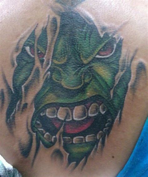 hulk tattoo designs best 25 ideas on