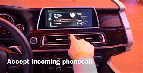 Bmw Idrive Knob Not Working by Bmw S New Idrive With Gesture Recognition Makes Us