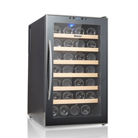 fashion touch screenelectronic temperature wine cooler