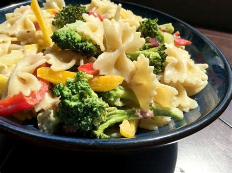 easy salad recipes broccoli pasta salad recipe for an easy lunch