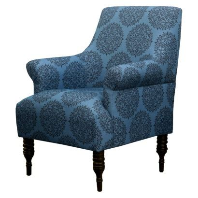 teal reading chair upholstered arm chair teal medallion seaside