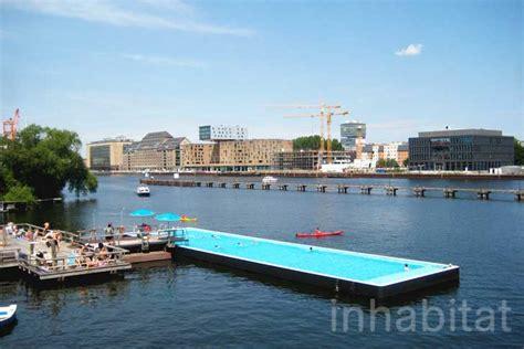 berlins floating arena badeschiff swimming pool
