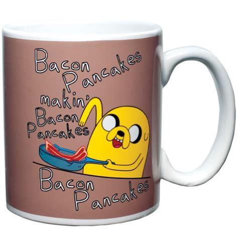 Kaos Adventure Time Bacon Pancakes adventure time bacon pancakes coffee mug royal