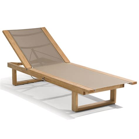 outdoor furniture loungers manutti siena teak lounger with textuline chaise
