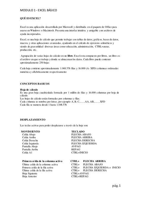 Excel Basico - Conceptos