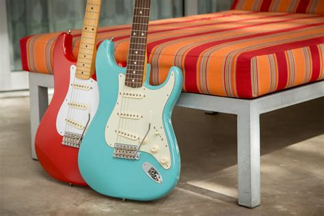 Diton Cerulean Blue fender announces new special edition 50s 60s