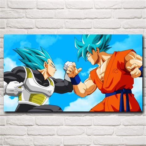 spray paint goku excellente qualit 233 vegeta affiche promotion achetez des