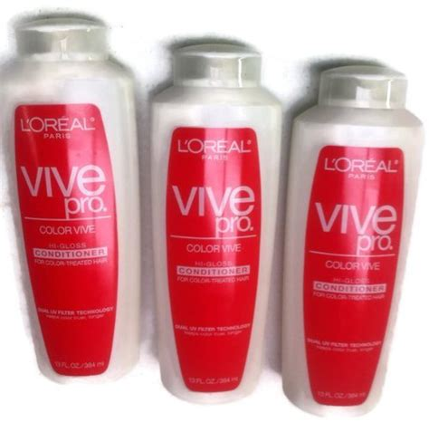 Shoo L Oreal Color Vive loreal vive pro for color treated hair l oreal