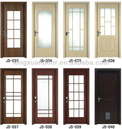Bedroom Toilet Doors Wpc Pvc Toilet Bedroom Bathroom Door With Glass Design