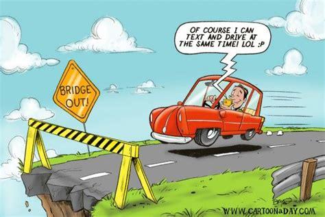 texting  driving cartoon driving school learn drive