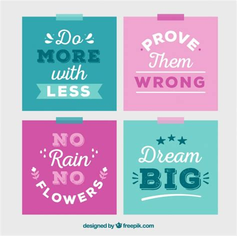 color quotes set of color quotes vector free