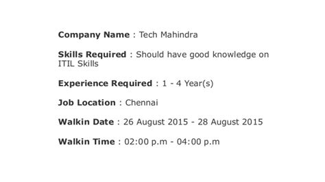 tech mahindra help desk number walkin in chennai for service desk analyst tech mahindra