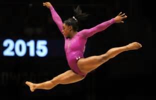 Gymnast Wardrobe Pics by 10 As Biles Joins Gymnastics Greats Daily Mail