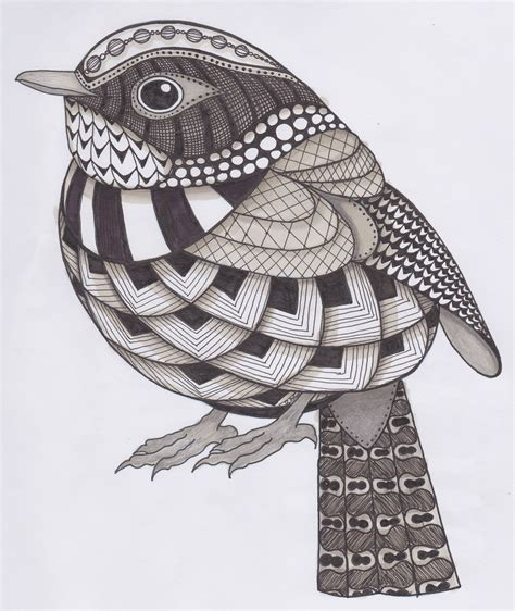 doodle patterns wikipedia bird zentangle with color google search zentangle