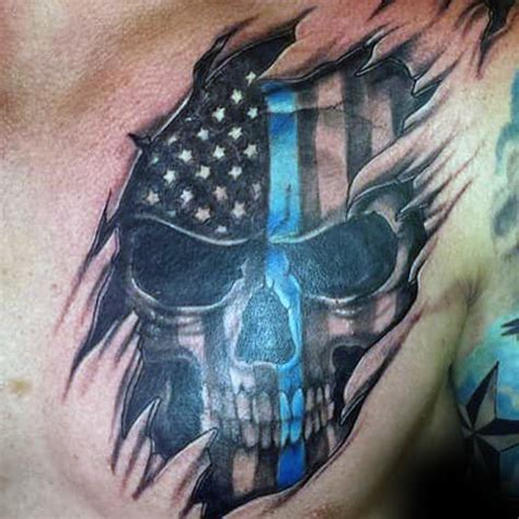 50 most amazing flag tattoo design ideas