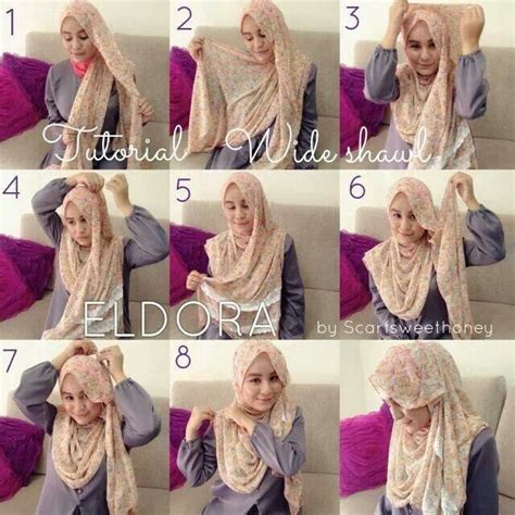tutorial pashmina layer 142 best images about hijab tutorial on pinterest