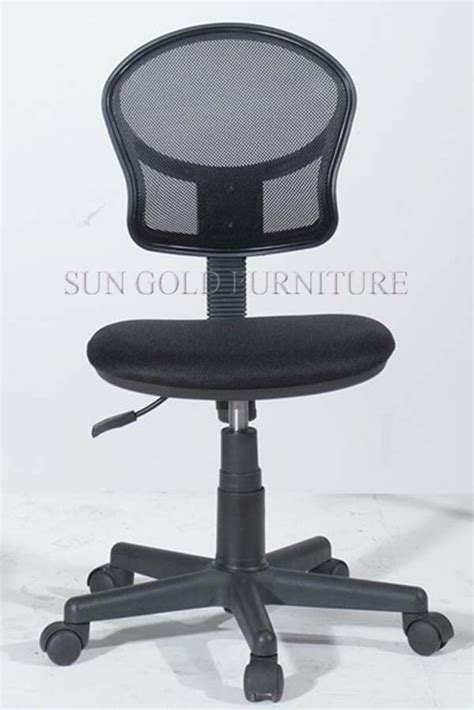 Office Chair Without Armrest by Cheap Fabric Office Chair Without Arm Rest Student Chair