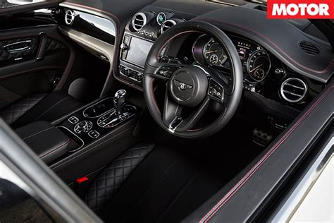 bentley bentayga 2016 interior 2016 bentley bentayga review motor