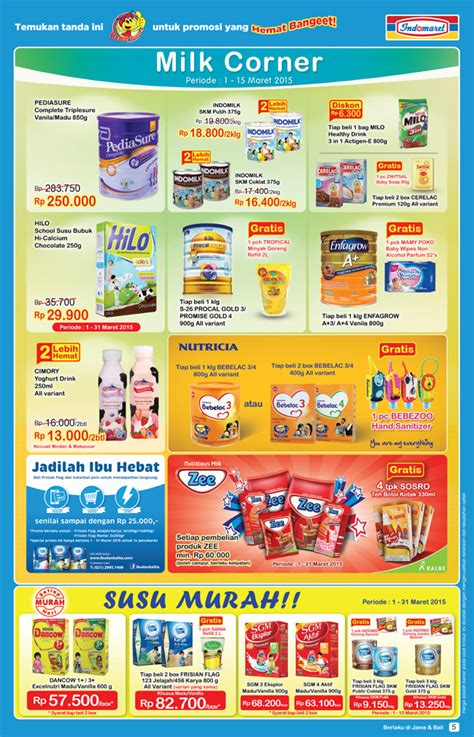 Harga Sho And Shoulders Di Indomaret by Katalog Harga Promosi Di Indomaret Periode 1 Sai 15