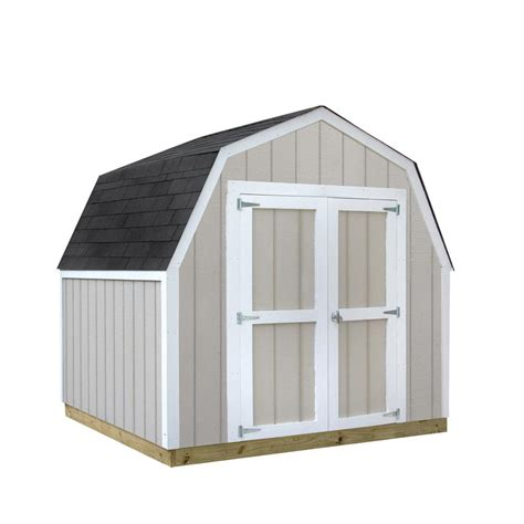 Sheds Usa Consumer Reviews by Sheds Usa Installed Val U Shed 8 Ft X 8 Ft Smart Siding Shed Vs0808v The Home Depot