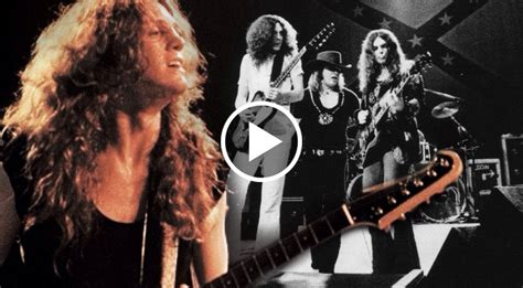 lynyrd skynyrd guitarist allen collins   greatest  rare freebird footage society  rock