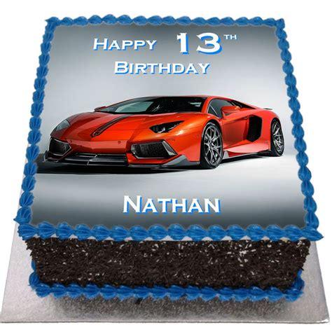lamborghini cake lamborghini birthday cake flecks cakes