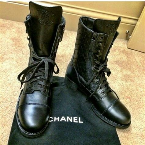 chanel mens boots chanel combat boots gift me combat boots
