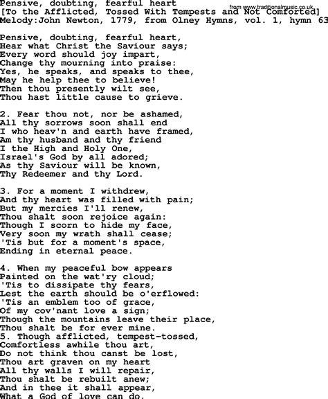heart pattern lyrics english old english song lyrics for pensive doubting fearful