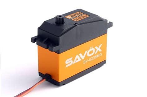 Savox Sv0236mg Servo 40kg Speed 0 17 savox 0236mg high voltage 5th scale servo 0 17 555 5 7 4v