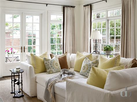 Yellow Blue And Brown Living Room Brown Sectional Design Ideas