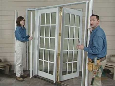 How To Install Brickmould For Patio Doors Youtube Installing A Patio Door