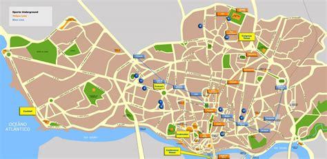 porto map maps amoita car hire portugal