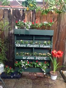 Diy Vertical Garden Pallet Diy Craft Projects Easy Crafts And Ideas Country Living