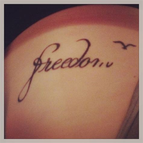 Tattoo Ideas Representing Freedom | the 25 best freedom tattoos ideas on pinterest freedom