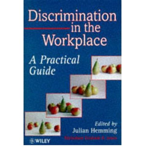 discrimination in the workplace julian hemming 9780471965800