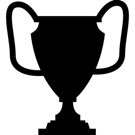 cup silhouette png trophy logo icon free icons download