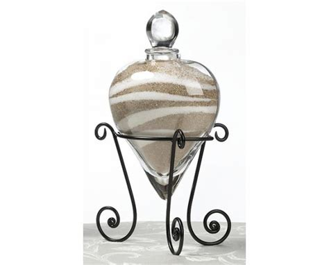 Unity Sand Vases by Shaped Wedding Unity Sand Vase And Stand