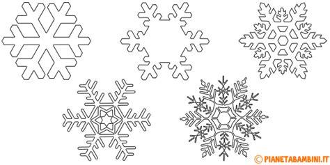 sagome lettere da ritagliare 9 sagome di fiocchi di neve da stare e ritagliare