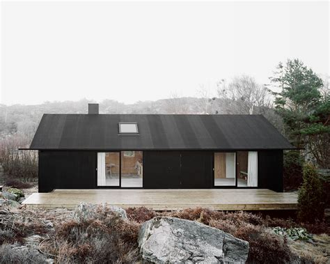minimalist small house design with single gable roof