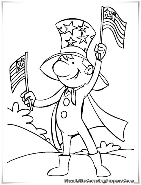 independence day coloring pages printable free printable 4th july coloring pages realistic