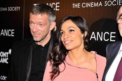 girlfriend vinent cassel vincent cassel photos photos trance premieres in nyc 2
