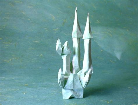 Origami Castle Easy - origami buildings page 1 of 2 gilad s origami page