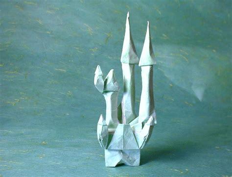 Castle Origami - tale castle eran leiserowitz gilad s origami page