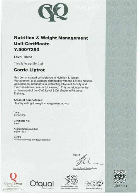 level 3 weight management and nutrition personal leeds fitness leeds