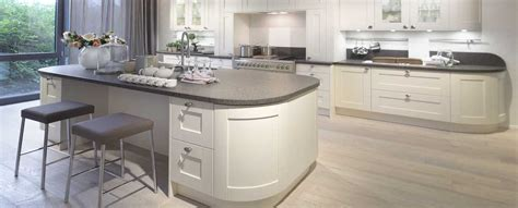 White Kitchen Base Cabinets by Curved Kitchens From Lwk Kitchens German Kitchen Supplier