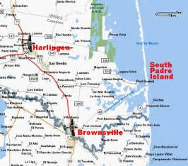 map of south padre island south padre island condo