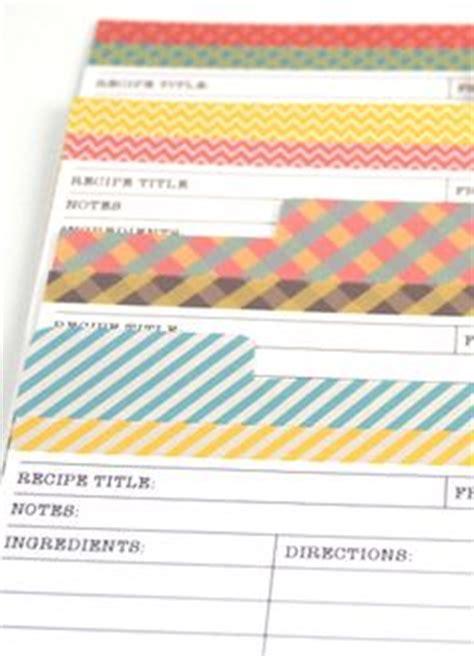 can i find a customizable recipe card template cookbook template on recipe binders recipe