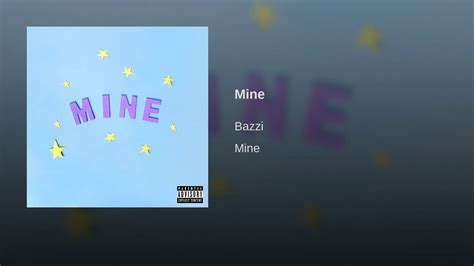 bazzi album cover mine youtube