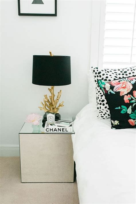 black and white bedroom with a pop of color 25 best ideas about coral throw pillows on pinterest